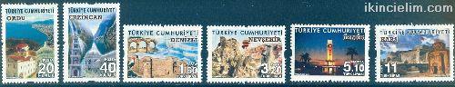 2016 Damgasız Turizm Konulu Sürekli Posta Pulları