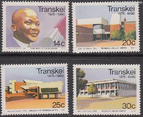 Transkei 1986 Damgasız Bağımsızlığın 10. Yılı Seri