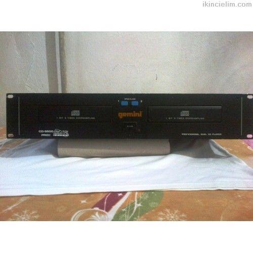 Gemını Cd-9500 Proıı Dual Cd Player
