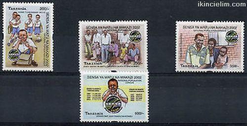 Tanzanya 2002 Damgasız Ulusal Nüfus Sayımı Serisi