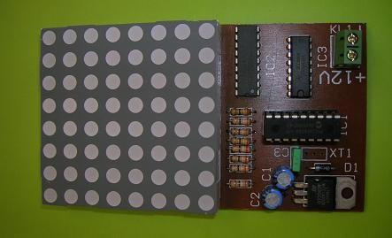 Elektronik Zar Devresi - 9V Pilli - Monteli Devre