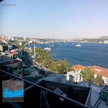 Konut 140 metrekre, Beyoğlu-Cihangir mah de. Cihangirde,Full Deniz Manzaralı Kiralık Daire.