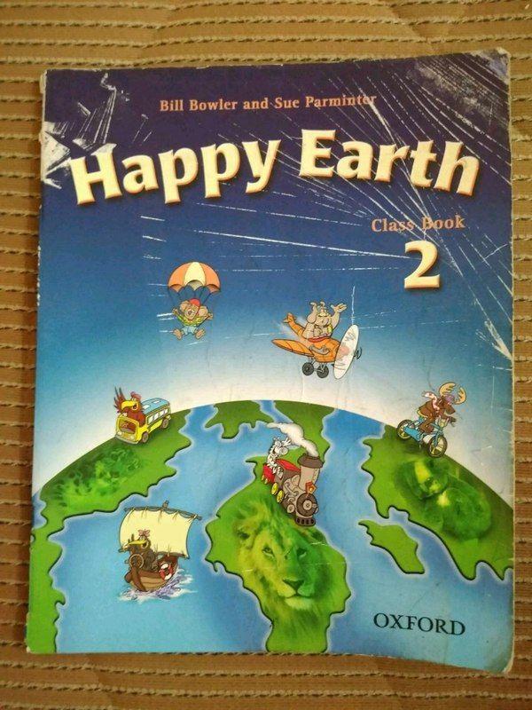 Yabancı Dil Kitaplar Satılık Oxford happy earth 2 class ve