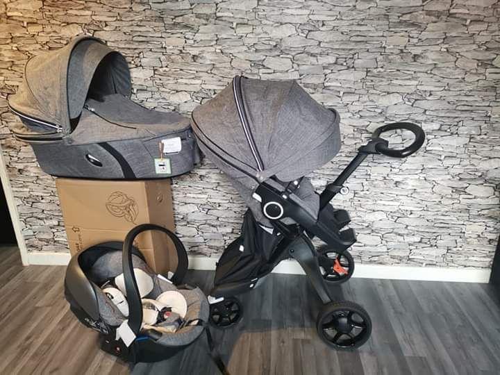 Bebek Arabası Satılık Stokke xplory v6 tam bebek arabası 3'ü 1