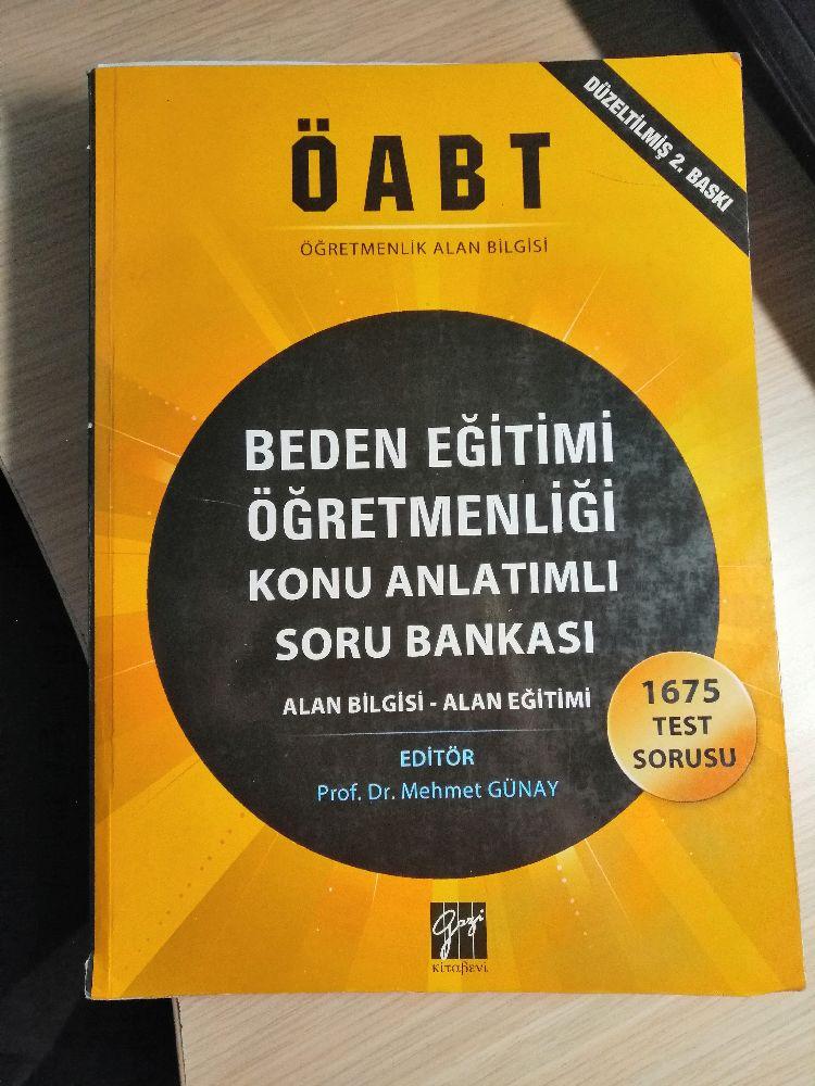 Kpss Kitapları ÖABT Beden Eğitimi Öğretmenliği Satılık Beden Eğitimi Öğretmenliği Konu Anlatımlı Soru B.