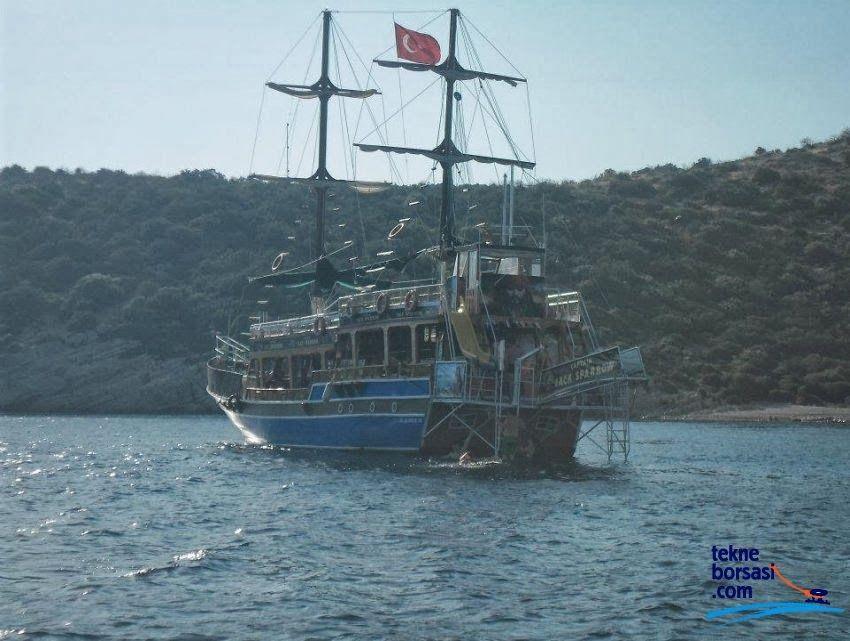Gezi Tekneleri Ahşap Satılık Gezi Tekne