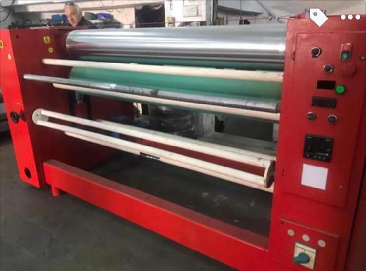 Baskı Makinaları (Tekstil) Kalender Baskı Makinası Satılık Kalender Ütü Baskı Makinası