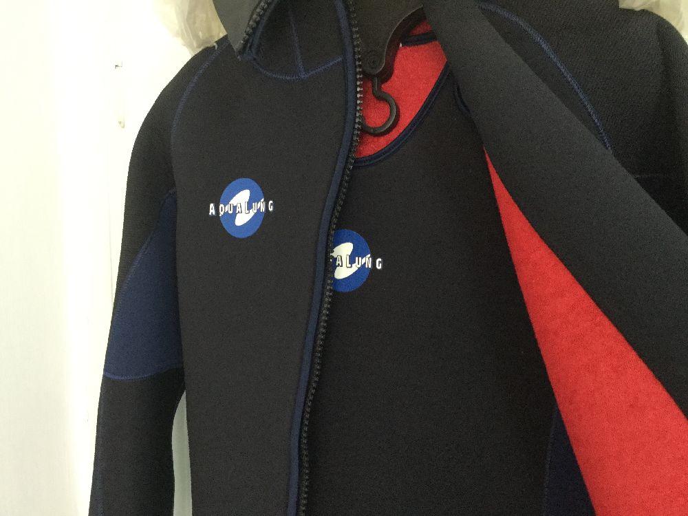 Dalış Elbiseleri AQUA LUNG Dalış Elbisesi Satılık Sıfır,Aqualung 7 mm,Long John+Ceket Sahibinden. L