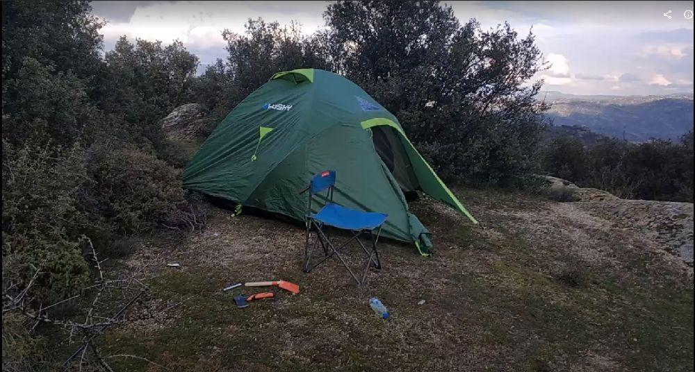 Çadır Acil  Satılık 1 Kere kullanılmış Husky Boneli 3