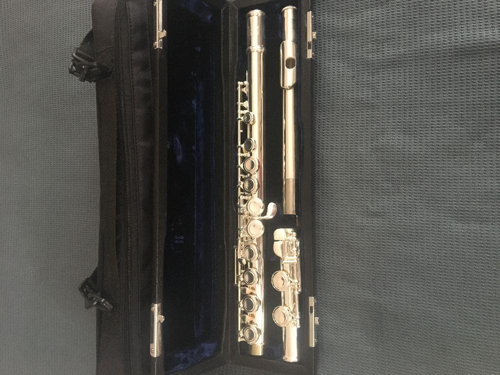 Flüt Trever james by kurioshi vivace Satılık Çok temiz yan flüt