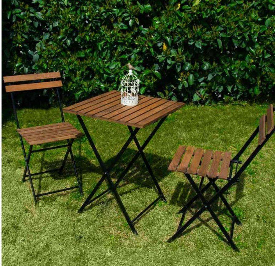 Diğer Mobilyalar YERLİ ÜRETİM Ahşap Satılık Sıfır Katlanır Masa Sandalye Takım