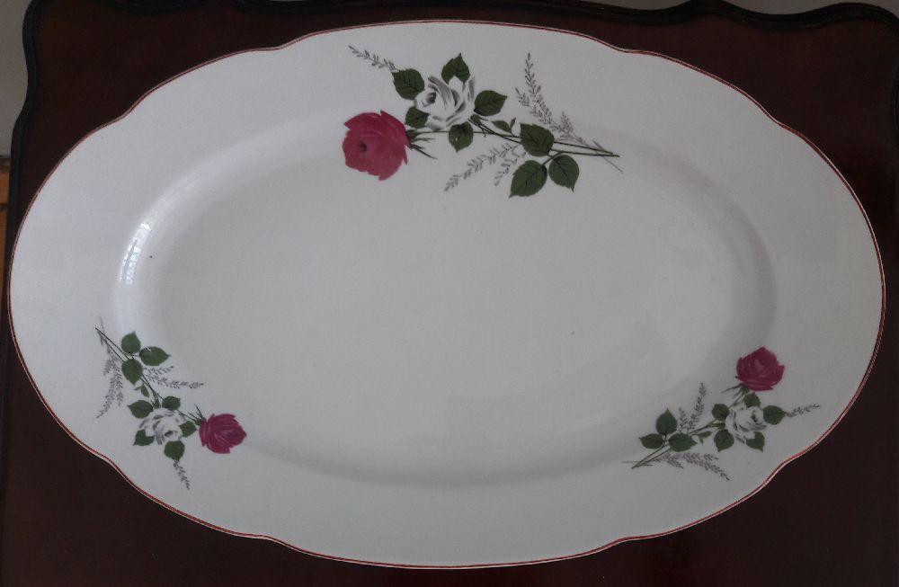 Porselen Takımlar Porzellan Bulgaria Satılık Oval Servis Tabağı 36*22,5 cm.