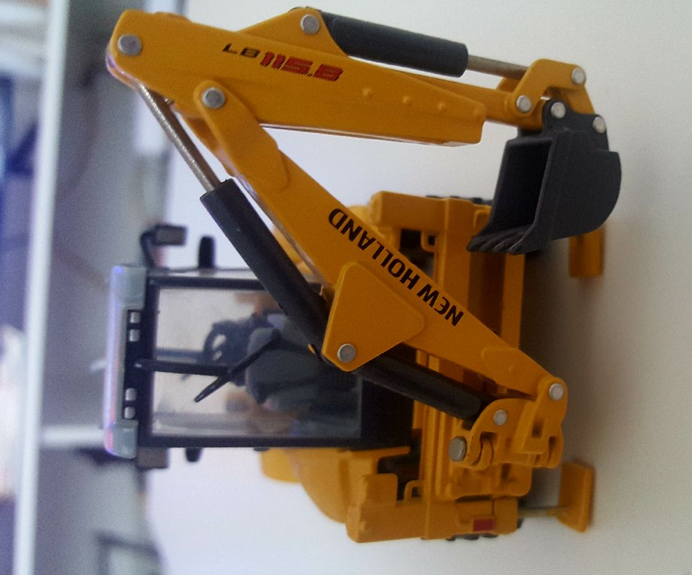 Diger Maket ve Modeller İş Makinesi Satılık New Holland-Lb 115 Backhoe Loader