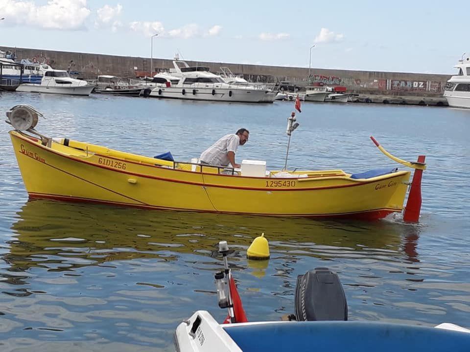Balıkçı Teknesi Ahsap Satılık Ruhsatsız Bakımlı Balıkcı Teknesi