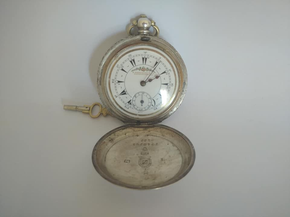 Cep Saati, Köstekli saat SERKİSOF BİLLODES Satılık Antika Osmanlı Billodes Serkisof Constantinople