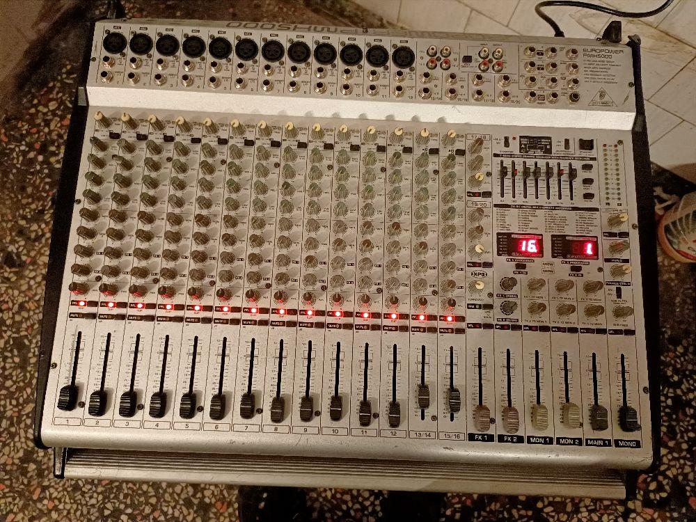 Amfi, Power Mikser Satılık Acil ilk gelen alır Behringer pmx 5000 power mixer