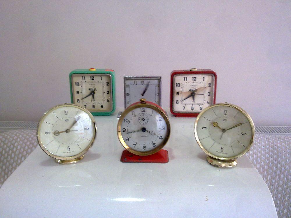 Masa Saati Muhtelif Satılık Alman ,Fransız, Rus Masa Saatleri
