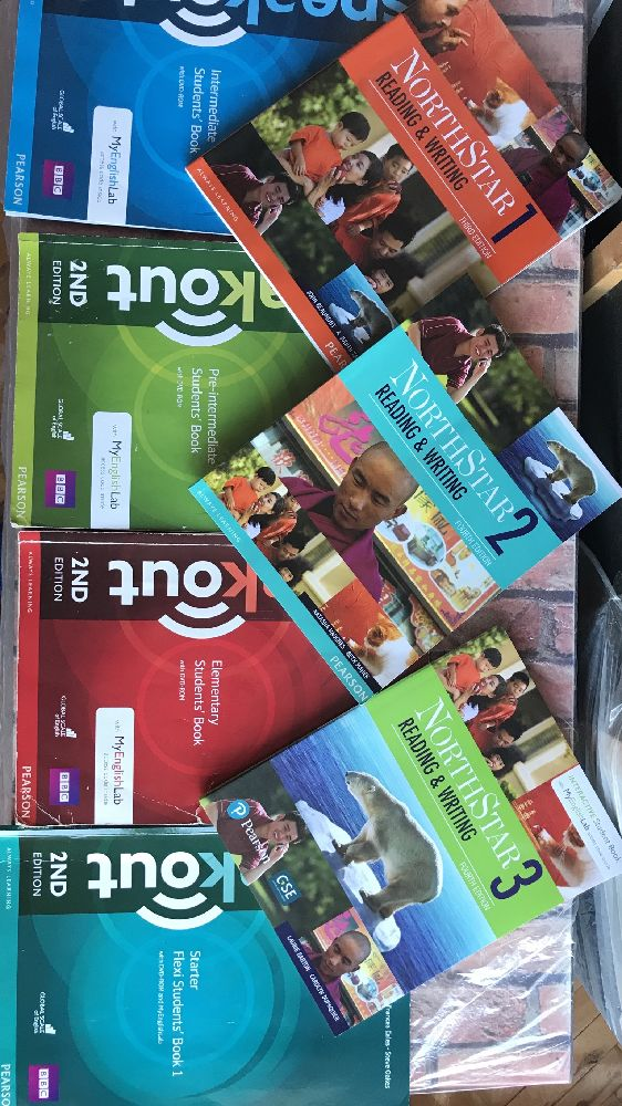 Yabancı Dil Kitaplar Satılık İngilizce hazırlık kitapları
