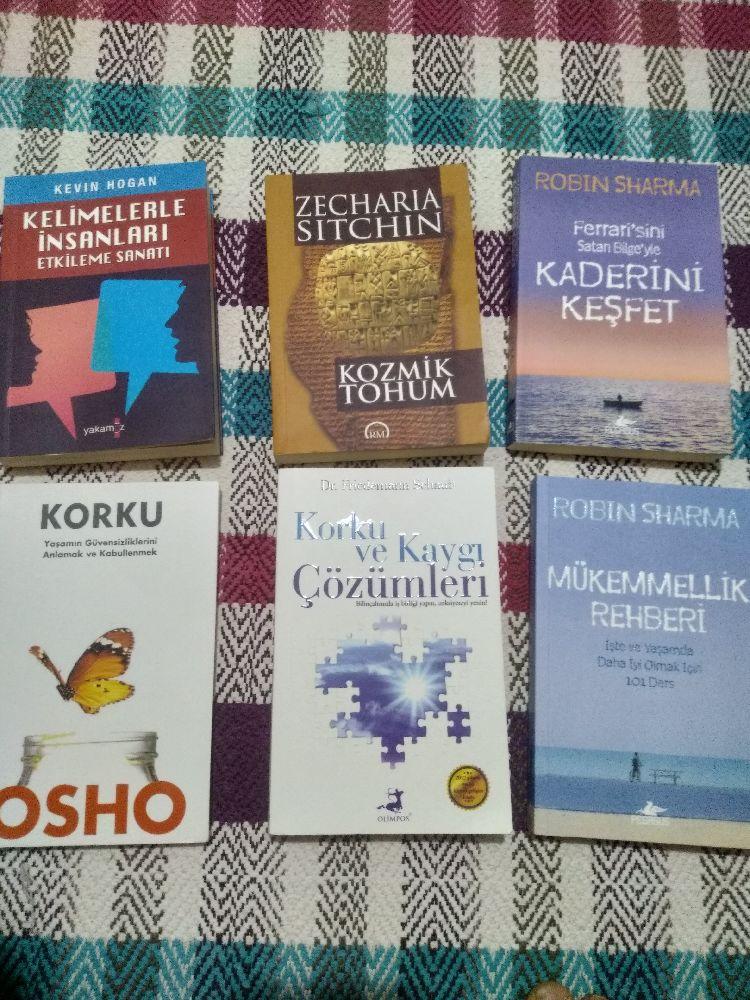 Diğer Kitaplar Yaklaşık 40 adet kitap Kişisel gelişim Satılık 2.el kitap