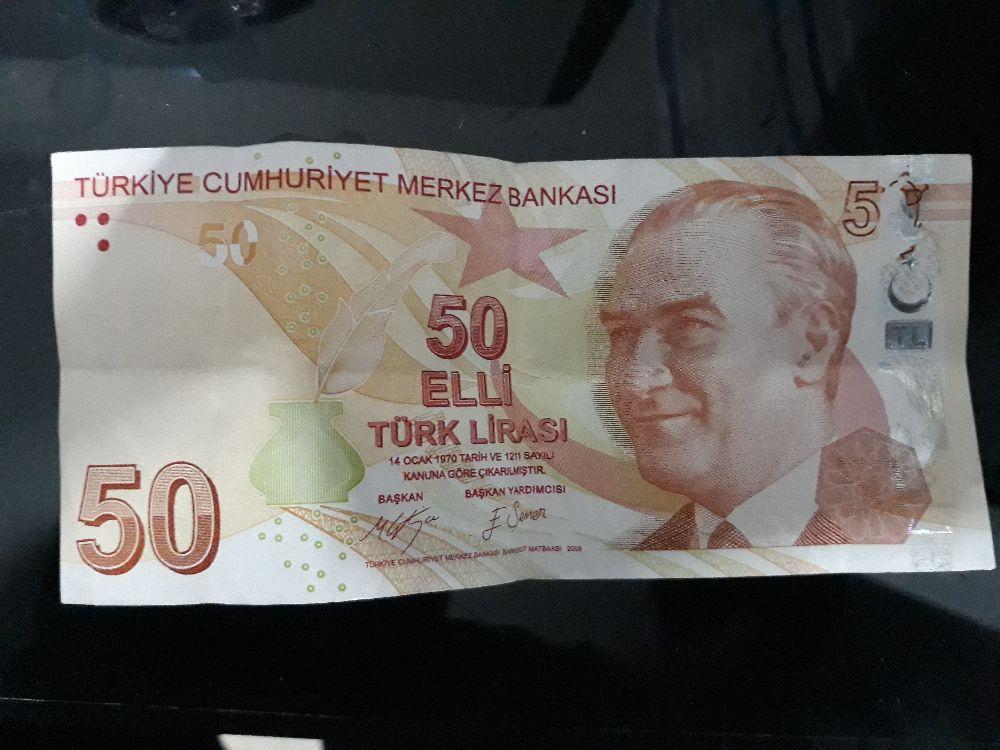 Paralar Türkiye 50 tl para Satılık Koleksiyon