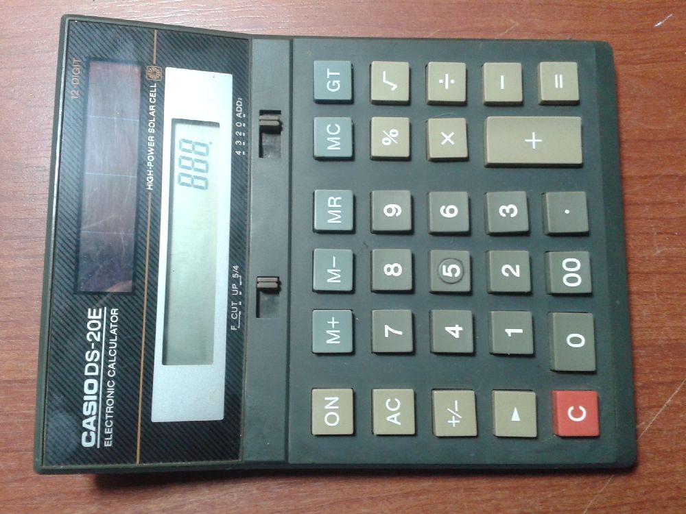 Hesap Makinesi Casio ds 20 e Satılık Casio hesap makinesi