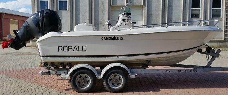 Sürrat Tekneleri Satılık Amerikan Balıkçı Teknesi - Robalo R-190