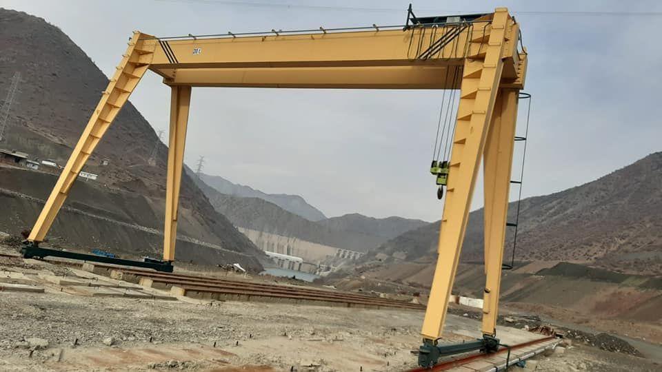 Portal Vinç Sekizli Satılık 12  metre 20 ton sıfır ayarında portal vinç