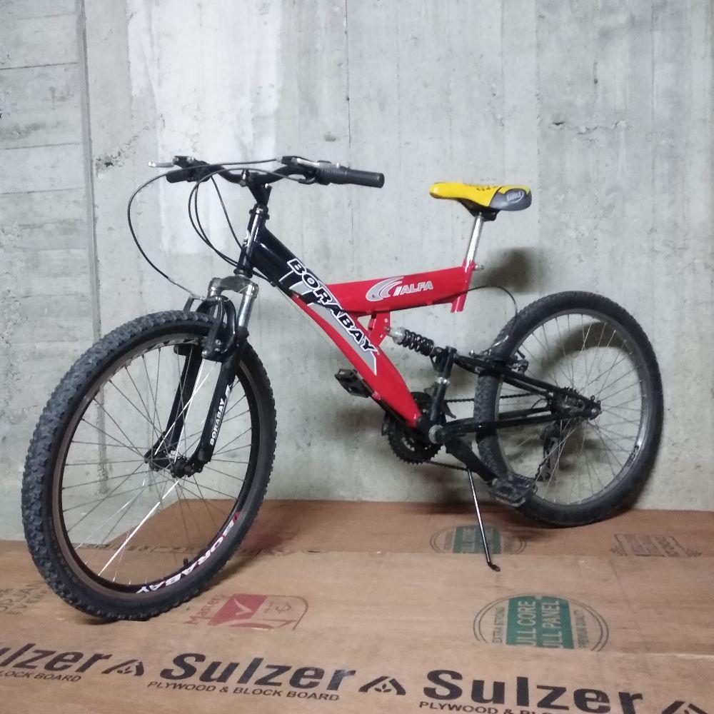 Şehir Bisikleti Satılık Borabay Alfa 24 Jant 21 Vites Sağlam Bisiklet