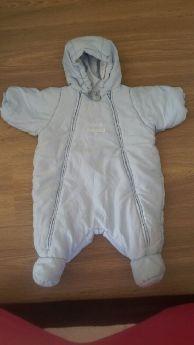 Petıt Bateau Marka Kalın Bebek Astronot Tulum