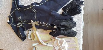 Bayan dalış kıyafeti