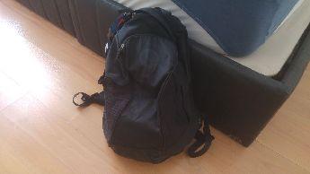 Nike Inter Siyah renk geniş çanta