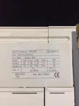 Siemens A3N 400A Kompak Şalter