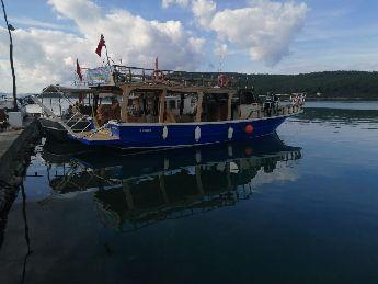 Gezi Tenezzüh Teknesi 14.80 Mt Full Revize Edilmiş