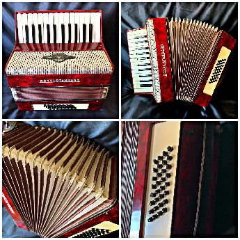 Temiz Royalstandard akordeon