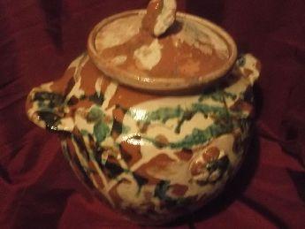 Osmanlı antika çanakkale küpü