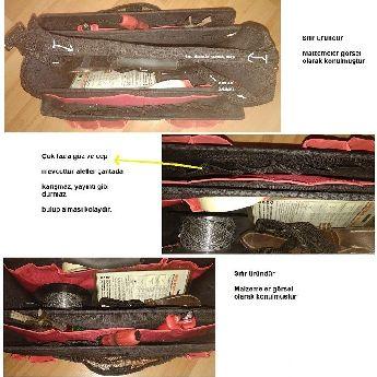 Alet çantası sağlam malzeme.