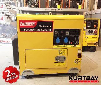 Palmera 8 kva dizel kabinli jeneratör Sıfır Ürün