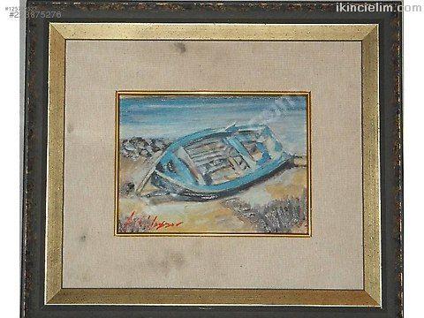 Ressamı tespit edilememiş tual üzeri yağlı boya ta
