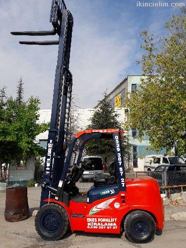 Ankara Kiralık 3 Tonluk Forklift