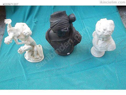 Sıkma mermerde Moudon İmzalı heykeller