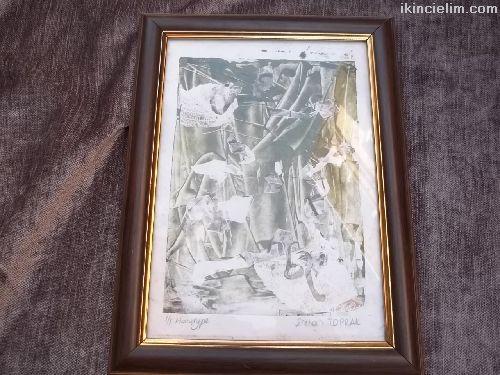 Ecehan Toprak imzalı tablo
