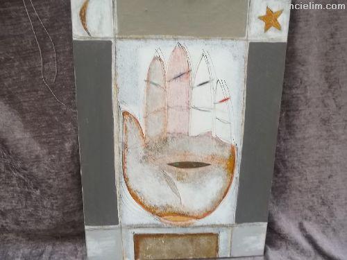 Ressamı tespit edilememiş tual üzeri yağlıboya