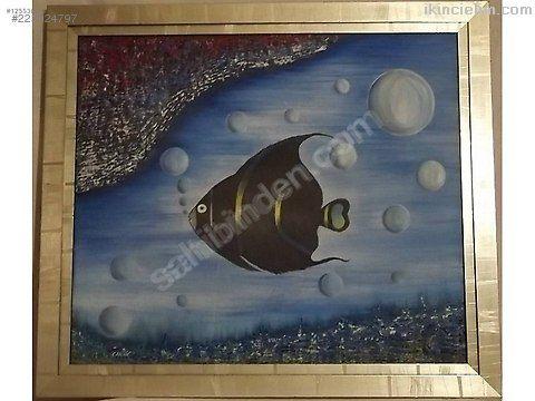 Canan imzalı tual üzeri yağlı boya tablo