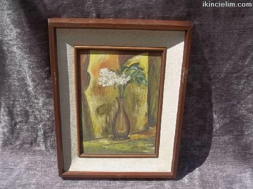 Tablo- Nuray Yildirim tuval üzeri yağlı boya tablo