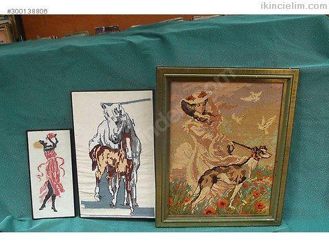 Goblen ve el işlemeli tablolar