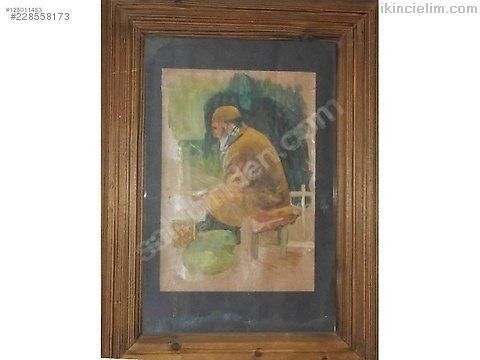 Karton üzeri yağlı boya tablo 35*50 cm ölçülerindı