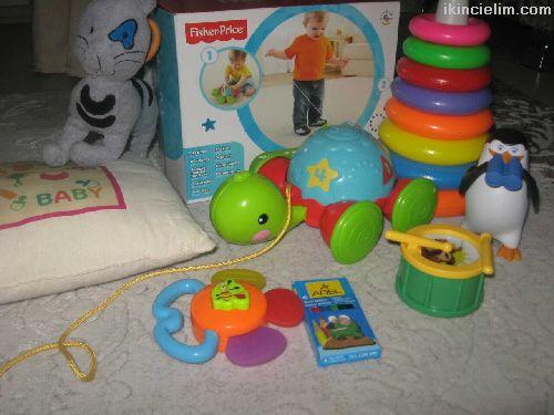 1-2-3;yaş oyuncak seti 8 parça