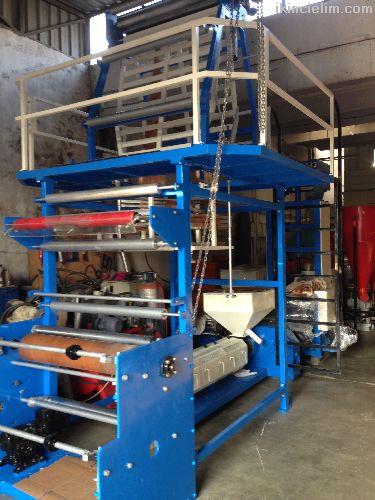 İzmir Teknik Makina Dönerkafa Poşet Makinası (105)