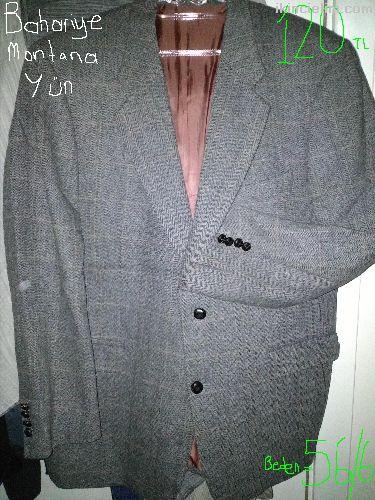 Çeşitli ceketler
