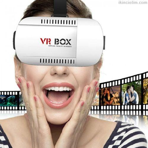Vr Box Sanal Gerçeklik Gözlüğü Hepsi Yeni Marka